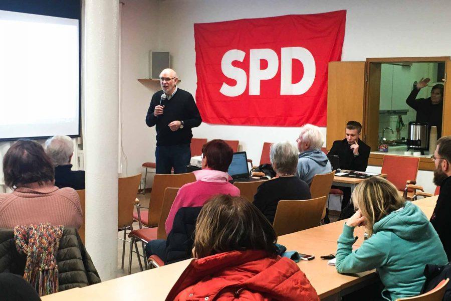 SPD-Veranstaltung zum Thema Bauen in Wentorf